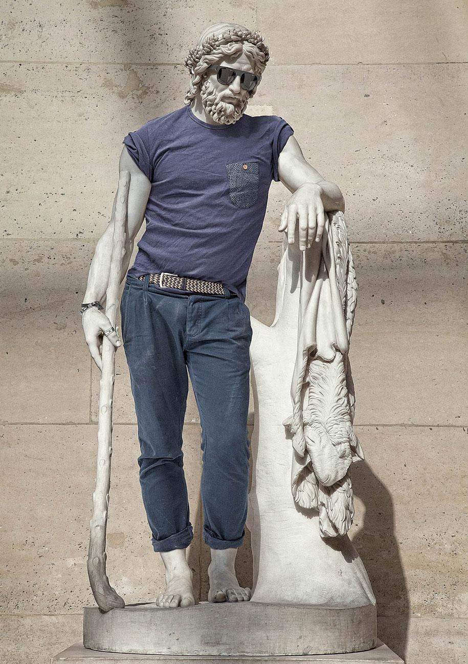 Esculturas vestidas Alternopolis (1)