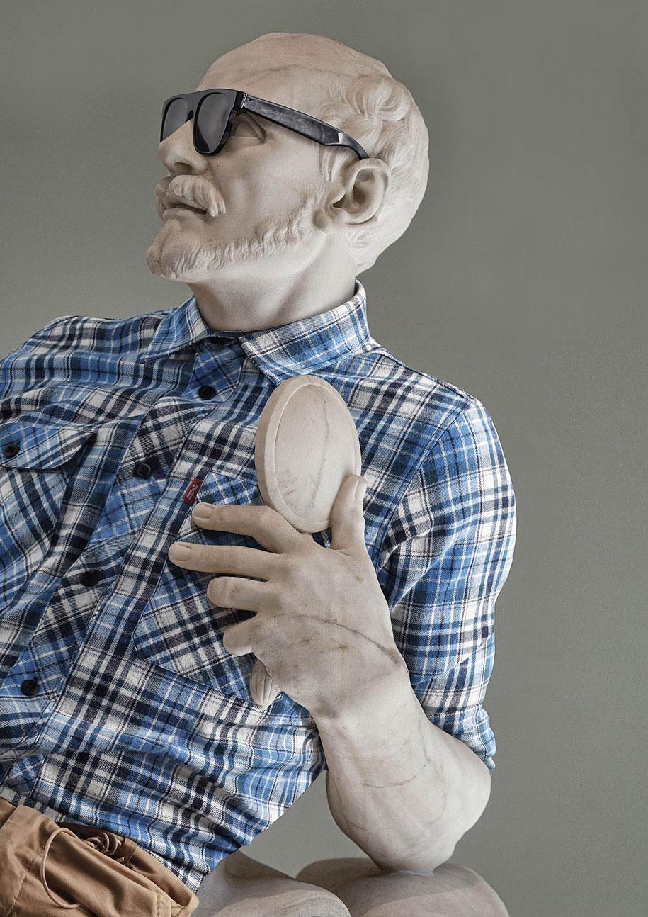 Esculturas vestidas Alternopolis (3)