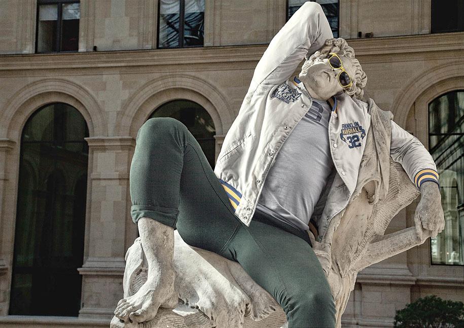 Esculturas vestidas Alternopolis (5)