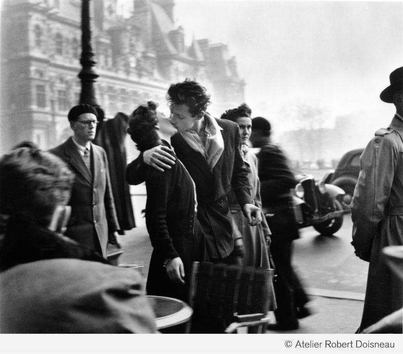 El beso del ayuntamiento Paris 1950