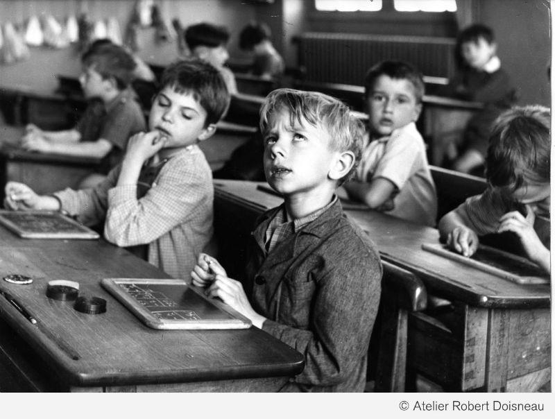 La información escolar Paris 1956