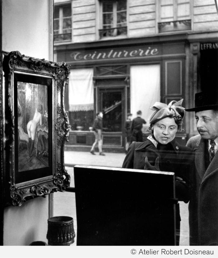 La mirada oblicua Paris 1948