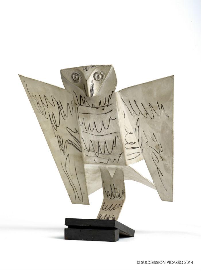 Pablo Picasso Búho 1961
