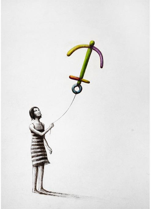 Jeunesse-Pencil-on-paper-28-x-20-cm-2012