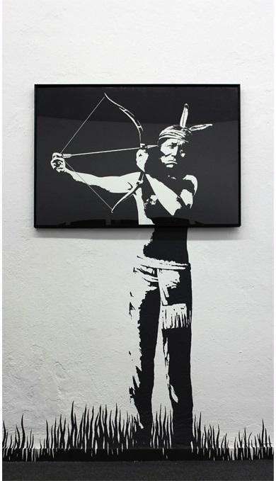 Suicide-Watercolor-on-paper-70-x-100-cm-20121