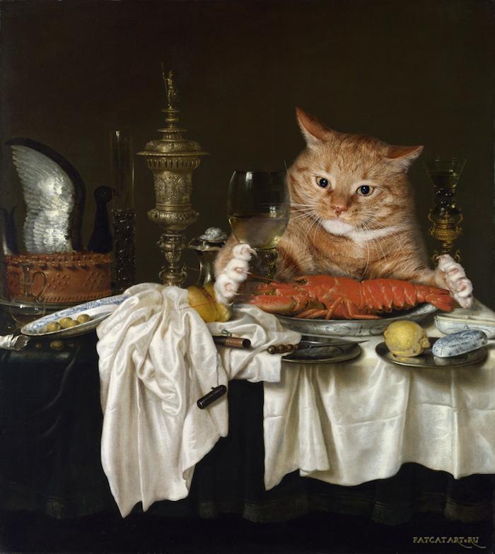 gato gordo en el arte (10)