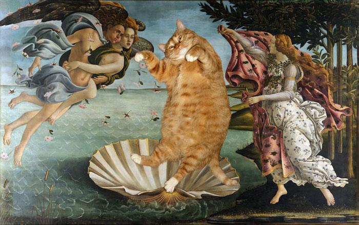 gato gordo en el arte (12)