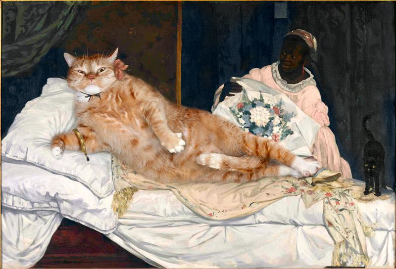 gato gordo en el arte (15)
