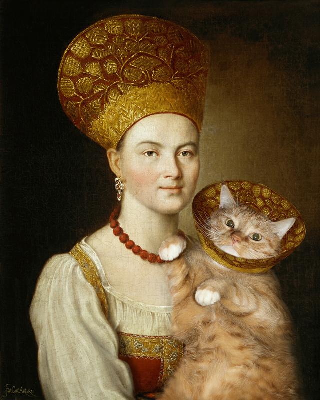 gato gordo en el arte (4)