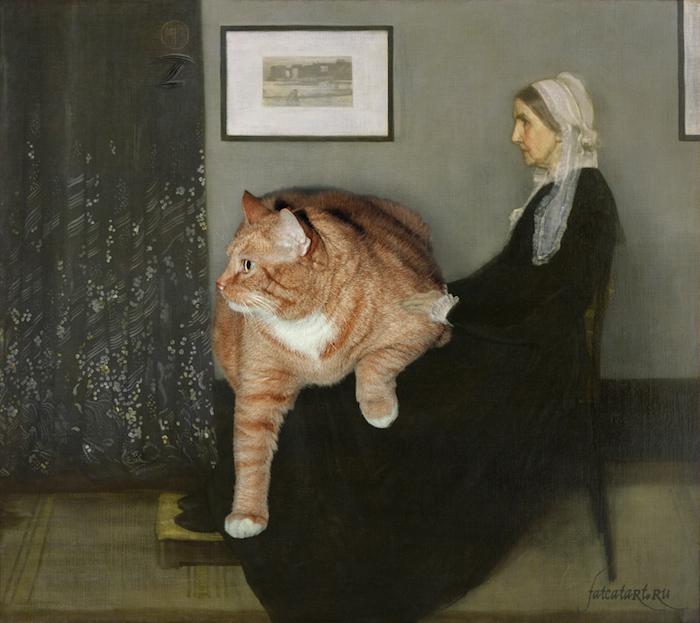 gato gordo en el arte (8)
