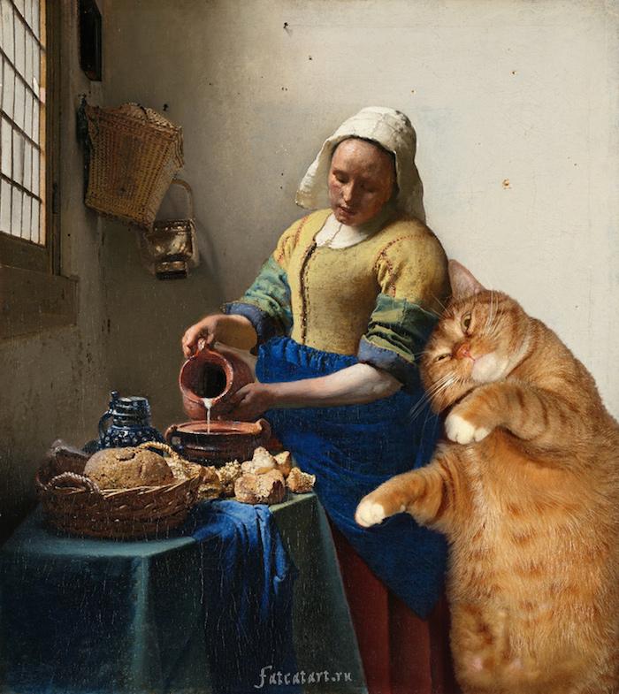 gato gordo en el arte (9)