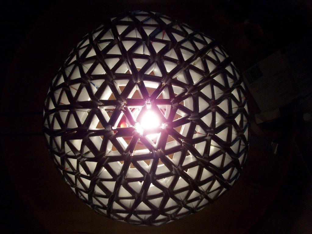 Como hacer una lampara con tetra pack alternopolis (4)