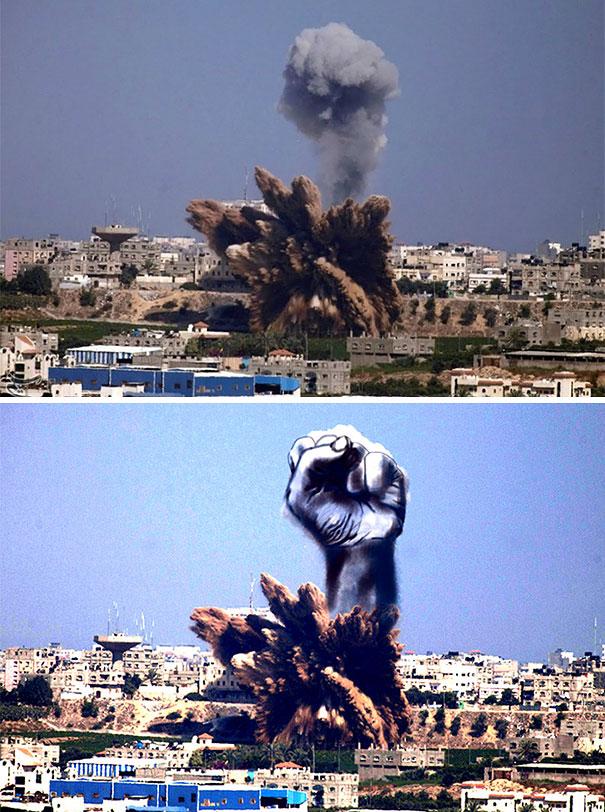 Gaza Ilustración Arte Alternopolis Tawfik Gebreel, Bushra Shanan y Belal Khaled (1)