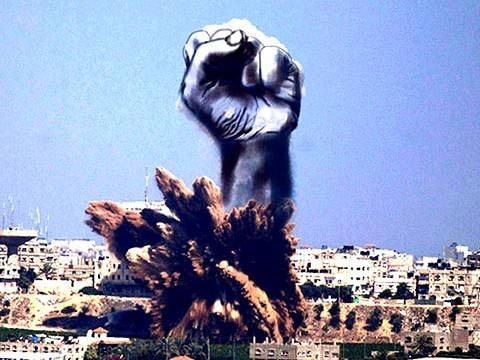 Gaza Ilustración Arte Alternopolis Tawfik Gebreel, Bushra Shanan y Belal Khaled (2)