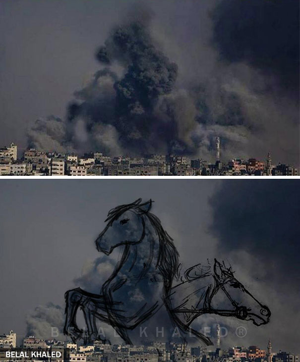 Gaza Ilustración Arte Alternopolis Tawfik Gebreel, Bushra Shanan y Belal Khaled (3)