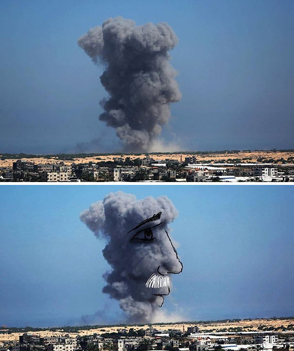 Gaza Ilustración Arte Alternopolis Tawfik Gebreel, Bushra Shanan y Belal Khaled (4)