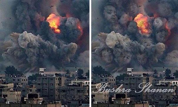Gaza Ilustración Arte Alternopolis Tawfik Gebreel, Bushra Shanan y Belal Khaled (5)
