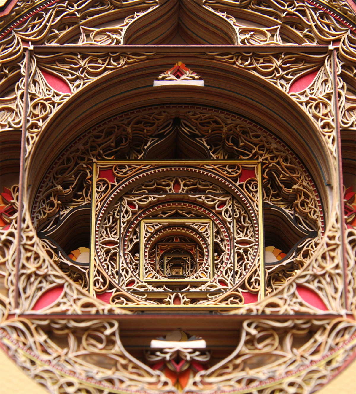 Laser-Cut Paper Alternopolis by Eric Standley  (12)