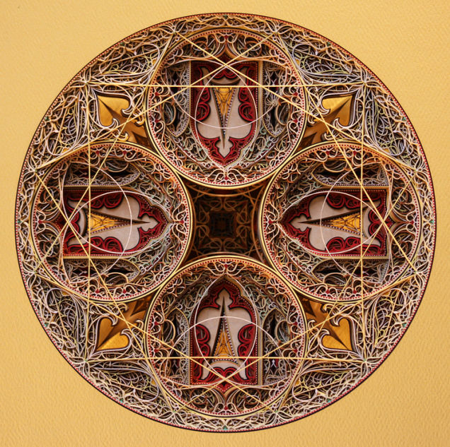 Laser-Cut Paper Alternopolis by Eric Standley  (2)