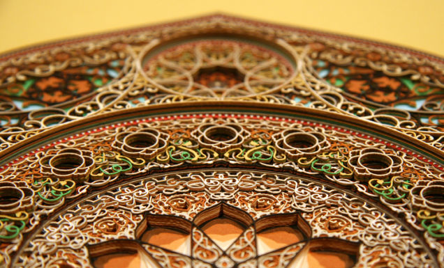Laser-Cut Paper Alternopolis by Eric Standley  (4)