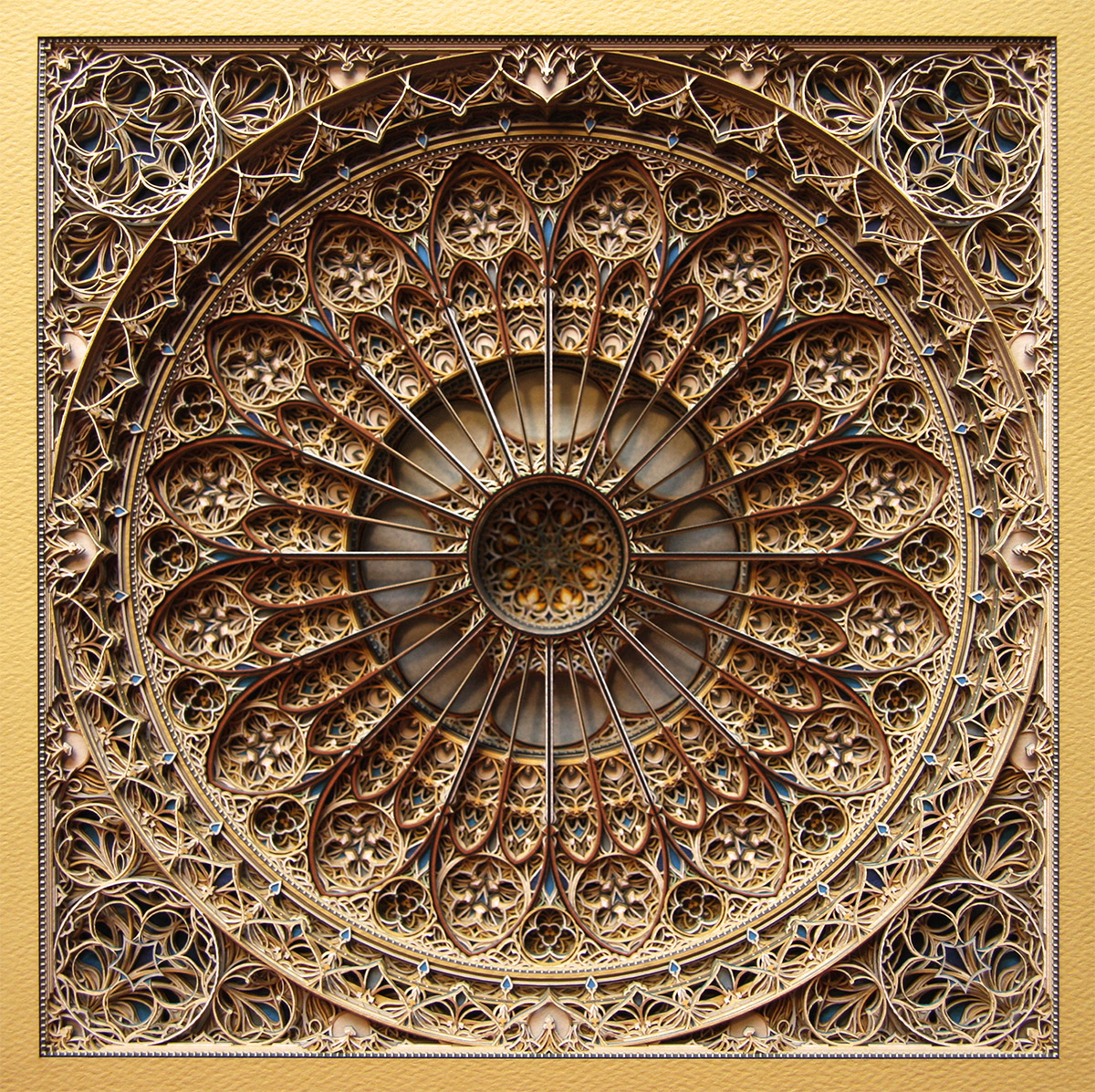 Laser-Cut Paper Alternopolis by Eric Standley  (8)