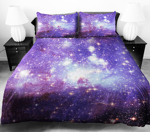 Sueños Galácticos Beddings desing galaxy dreams (1)