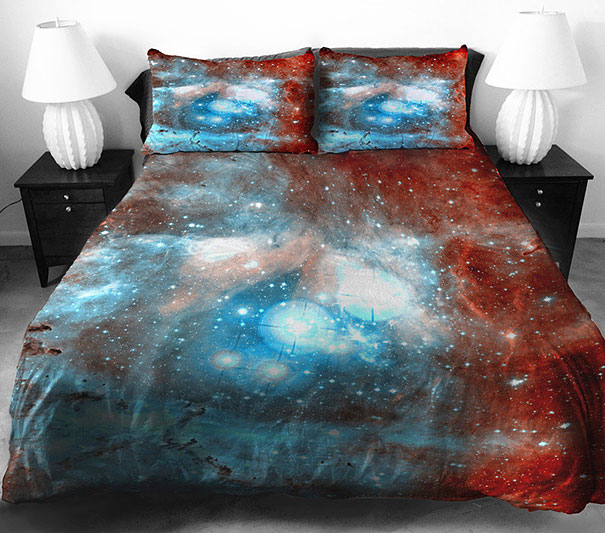 Sueños Galácticos Beddings desing galaxy dreams (8)