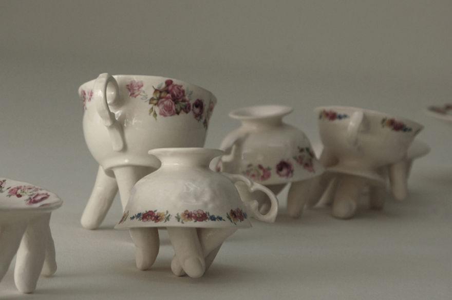 Hybrid tea set