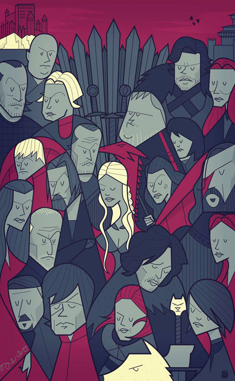 Famous-Movies-Turned-Into-Cartoon-Posters_25