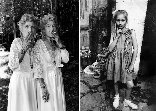 Sue-Gallo-Baugher-et-Faye-GalloTwinsburg-Ohio-1998-left-Street-ChildTrabzon-Turkey-1965-right-640x456