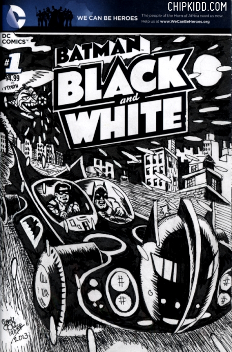 batman-black-and-white-Gary-Panter