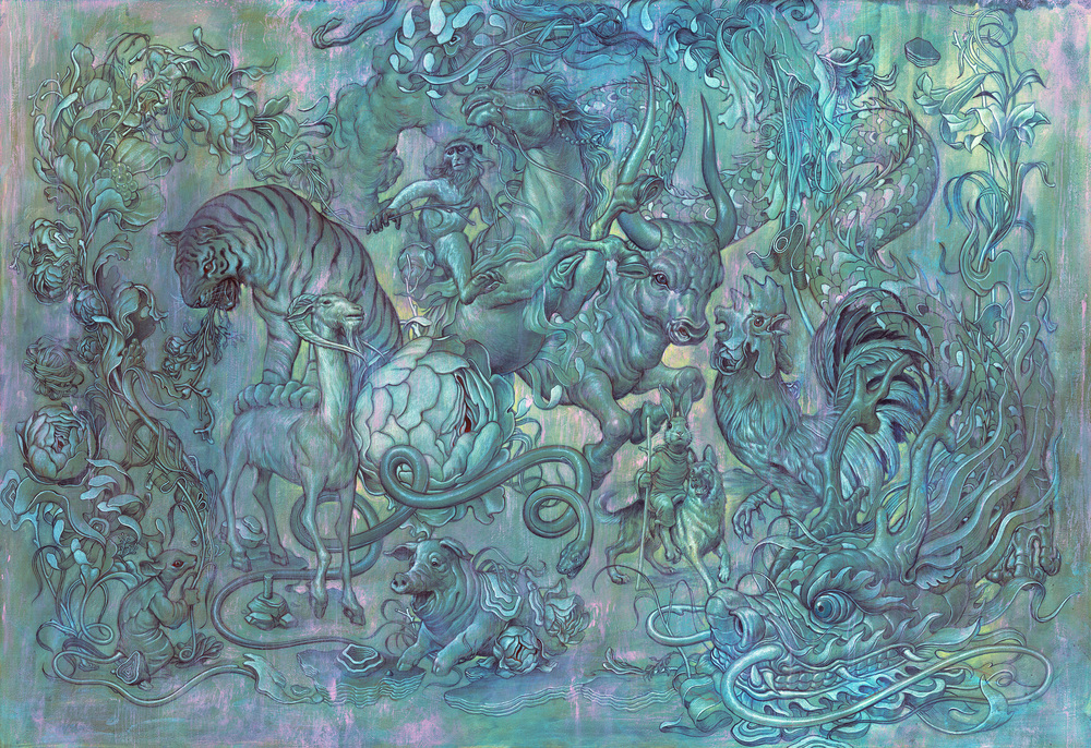 Mágica Aura Atrapada En Pinturas Alternopolis