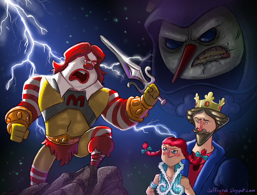 fast_food_mascots_of_the_universe_by_jeffvictor-d5a8wfj