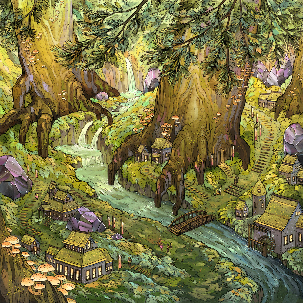 ForestFalls_painting