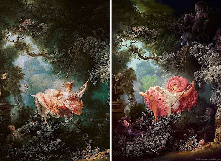 classical-paintings-anime-culture-Lothlenan-1