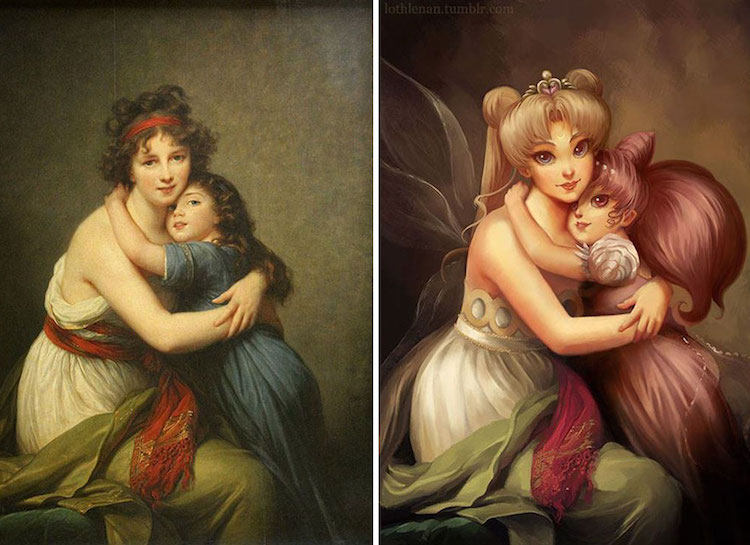 classical-paintings-anime-culture-Lothlenan-3