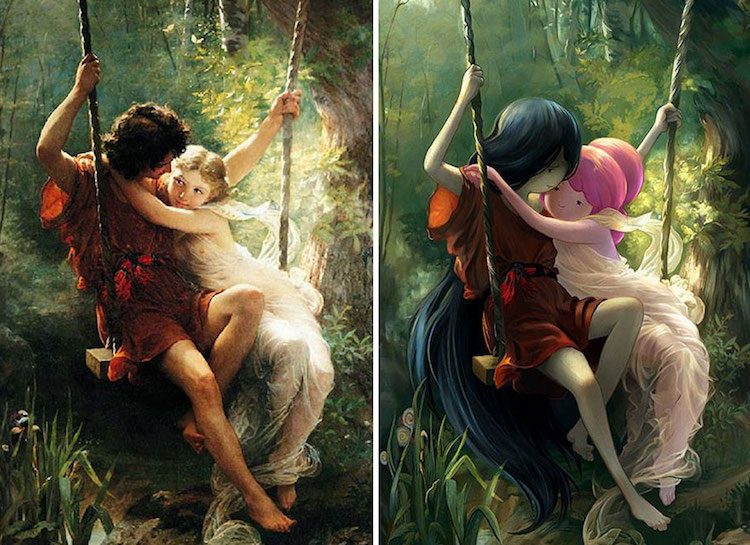 classical-paintings-anime-culture-Lothlenan-4