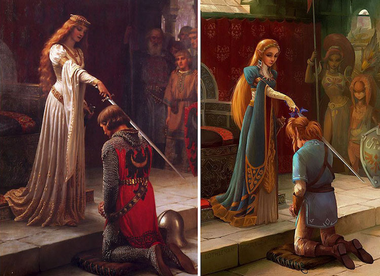 classical-paintings-anime-culture-Lothlenan-6