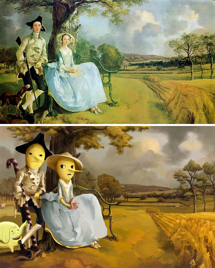 classical-paintings-anime-culture-Lothlenan-9