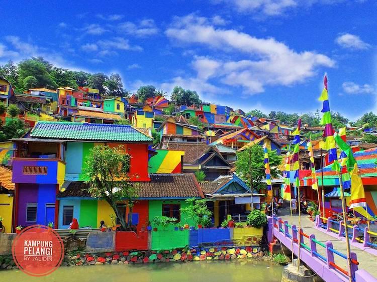 rainbow-colored-village-9