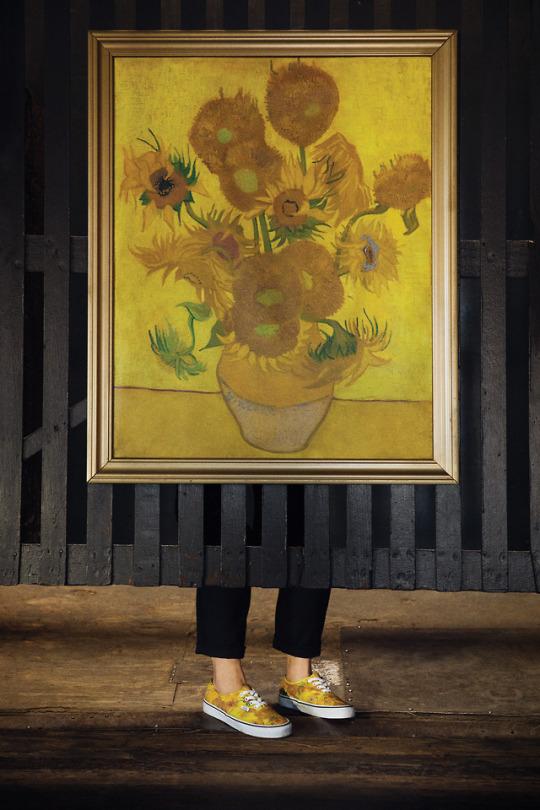 Vans hace un peculiar homenaje a Van Gogh   Alternopolis