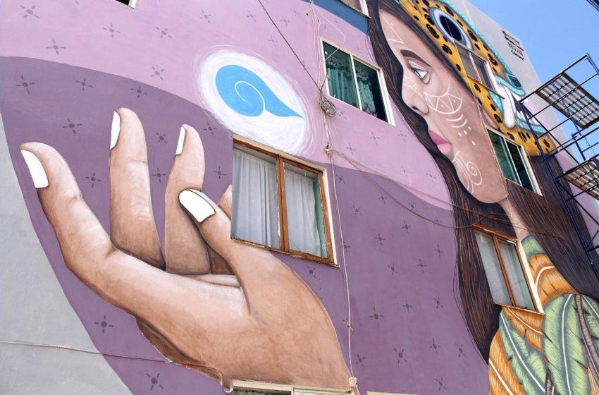 Arte urbano transforma paisaje urbano de Puebla