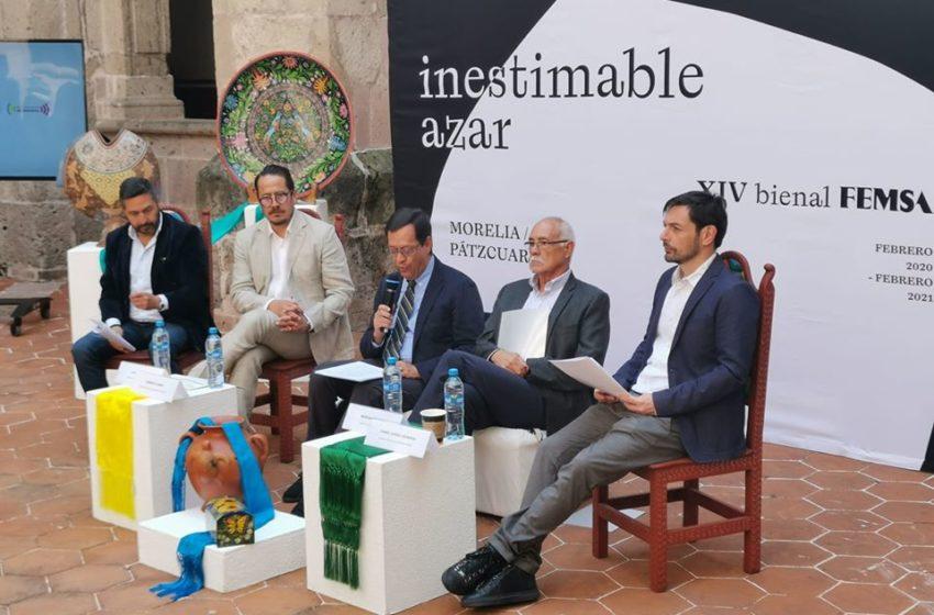 La Bienal FEMSA celebrará su edición catorce en Michoacán