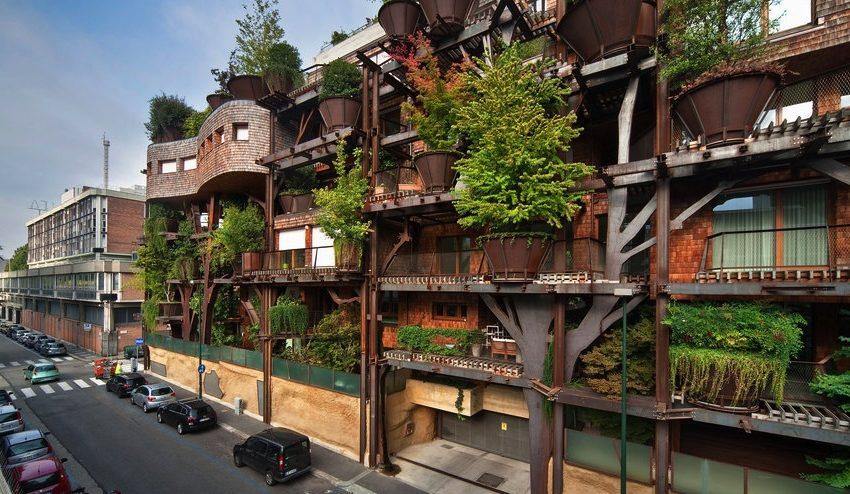 Un edificio sostenible con una increíble arquitectura