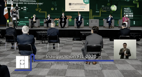 Comienza edición virtual de la Feria Internacional del Libro de Guadalajara