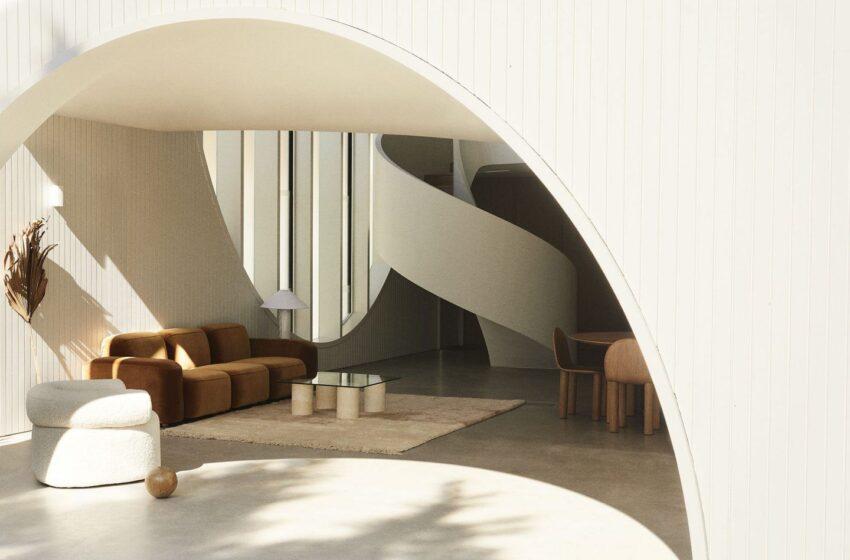 Sol como inspiración para diseño fantástico de muebles